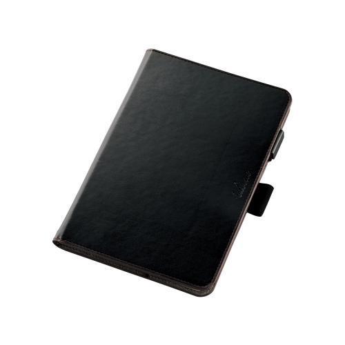 【月間優良ショップ選出】【ポイント10倍】[ELECOM(エレコム)] ZenPad 3 8.0用ソフトレザーカバー(360度) TB-AS581A360MBK