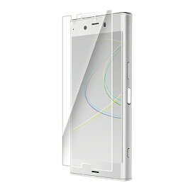 [ポイント10倍]エレコム Xperia XZ1 Compact/液晶保護フィルム/防指紋/反射防止 PD-SO02KFLF