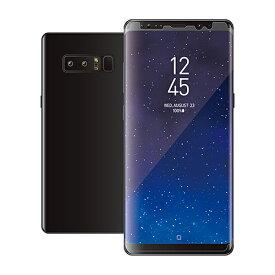 【ポイント10倍】エレコム Galaxy Note 8/フルカバーフィルム/衝撃吸収/反射防止/透明/防指紋 PM-SCN8FLFPRN