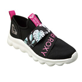 ROXY【ON THE MOVE 2:BBK】[ロキシー] スニーカー 靴 20SP レディス レディース 女性用ボリュームソール スリッポン スポーツ ジム フィットネス [RFT201309]