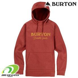 Burton[バートン] 撥水パーカー【Men's Burton Crown Bonded Pullover Hoodie】【SPARROW HEATHER】定番のクラウンボンデッドプルオーバーが特価にて!!