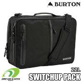 Burton[バートン]【SWITCHUPPACK:TRUEBLACKBALLISTIC】バリスティックナイロンを使用し、耐久性に優れたビジネスバッグとしてもイケルバックパック