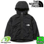 子供用THENORTHFACE【COMPACTNOMADJACKET:KK(ブラックブラック)】NPJ72036ノースフェイス