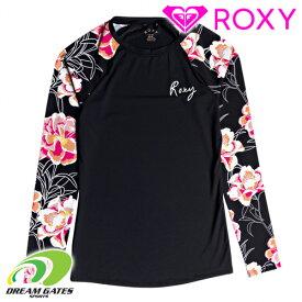 ROXY【FASHION LS LYCRA:KVJ9】ロキシー 長袖Tシャツ ラッシュガード レディス 女性用※ショーツは別売りになります。日本サイズ [メール便対応可]