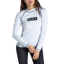 ROXY【RASHIE L/S:WHT】[ロキシー] 20SP ラッシュガード レディス レディース 女性用 UVカット 白 ホワイト[RLY205024]