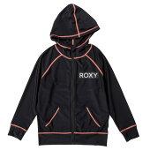ROXY【MINIRASHIEPARKA:Blk】[ロキシー]20SP子供用ラッシュパーカーキッズジュニアUVカット黒ブラック[TLY201107]