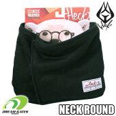 HECKヘック【NECKROUND】裏ボア仕様で保温性に優れるネックウォーマー。ボタン留めなので眼鏡、髪形、ゴーグル等を気にせずに着用できる汎用性に優れたアイテムです!!