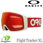 OAKLEY【20/21・FlightTrackerXL:FactoryPilotViperRedGrey/PrizmTorchIridium】[71042100]