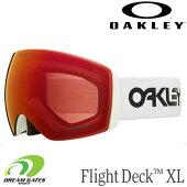 OAKLEY【20/21・FlightDeckXL:FactoryPilotWhite/PrizmTorchIridium】[70508700]