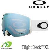 OAKLEY【20/21・FlightDeckXL:MatteWhite/PrizmSapphireIridium】[70509100]