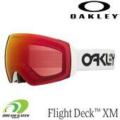 OAKLEY【20/21・FlightDeckXM:FactoryPilotWhite/PrizmTorchIridium】[70649600]