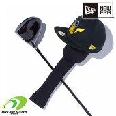 NEWERA【GOLFHEADCOVERPOKEMONCAPPIKACHU:BLACK】ゴルフヘッドカバードライバー用