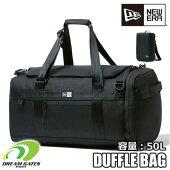NEWERA【CLUBDUFFLEBAGBLK50L:BLACK】ニューエラクラブダッフルバッグブラック部活用バッグ大容量