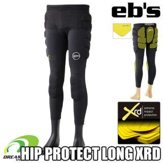 eb'sエビス【19/20・HIPPROTECTLONGXRD:BLACK】スキースノボスノーボードプロテクタープロテクションポロンエックスアールディー採用