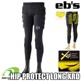 eb's エビス【19/20・HIP PROTECT LONG XRD:BLACK】スキー スノボ スノーボード プロテクター プロテクション ポロンエックスアールディー採用