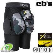 eb'sエビス【19/20・SLIMPROTECTXRD:BK-CAMO】スキースノボスノーボードプロテクタープロテクションポロンエックスアールディー採用