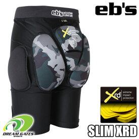eb's エビス【19/20・SLIM PROTECT XRD:BK-CAMO】スキー スノボ スノーボード プロテクター プロテクション ポロンエックスアールディー採用