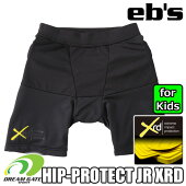 eb'sエビス【19/20・HIP-PROTECTJRXRD:BLACK】スキースノボスノーボード用プロテクタープロテクション