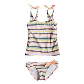 ROXY ロキシー水着 SwimwearGIRL LETS GO SURFING TANK SET [ERLX203076] 19SS 子供用水着 キッズ ジュニア 女の子 ガール ベビー