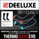 ソックス DEELUXE(ディーラックス) 【THERMO SOCKS EVO】日本製