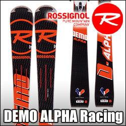 ★スキー板 Rossignol(ロシニョール) 【16/17・DEMO ALPHA (R21 RACING) + FCFA022 SPX 15 ROCKERFLEX White Icon】 ビンディングとの2点セット!!
