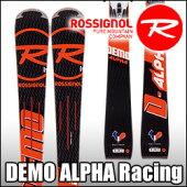 スキー板Rossignol(ロシニョール)【16/17・DEMOALPHA(R21RACING)+FCFA022SPX15ROCKERFLEXWhiteIcon】ビンディングとの2点セット!!