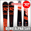 ★スキー板 Rossignol(ロシニョール) 【16/17・DEMO ALPHA SOFT (FLUID X) + FCFB005 SPX 12 FLUID ...