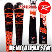 スキー板Rossignol(ロシニョール)【16/17・DEMOALPHASOFT(FLUIDX)+FCFB005SPX12FLUIDB80】ビンディングとの2点セット!!