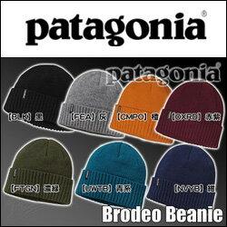 [日本正規取扱品]Patagonia[パタゴニア]【Brodeo Beanie】メリノウール使用の折り返しビーニー