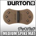 デッキパッド Burton[バートン]【MEDIUM SPIKE MAT】【BLACK TRANSLUCENT】
