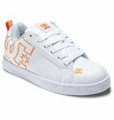 DCSHOE女性用21FA[DW214601_WOR]ホワイト【WSCOURTGRAFFIKLITE】ディーシーコートグラフィックライトレディースフットウェアスニーカー靴シューズ軽量UVTransform