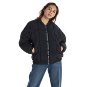 ROXY[RJK204055_BLKアウタージャケット【JIVYDRESS】20FW中綿入りヘビージャケット冬物上着防寒長袖レディスレディース女性用秋冬