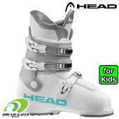 【納期B】HEAD【20/21・Z3:White/grey】[609557]ヘッドスキーブーツジュニアキッズ子供用