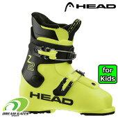 【納期B】HEAD【20/21・Z2:Yellow/black】[609566]ヘッドスキーブーツジュニアキッズ子供用