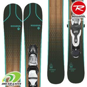 【納期B】ROSSIGNOL【20/21・MINI EXPERIENCE 99】[RRJJP03] ロシニョール スキー板 ビンディングとの二点セット 取付工賃無料 送料無料 ショートスキー スキーボード 解放機能付き