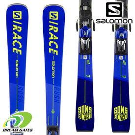 【納期B】SALOMON【21/22・S/RACE RUSH SL + X12 TL GW】[L41169400] サロモン スキー板 ビンディングとの二点セット 取付工賃無料 送料無料 エスラッシュ エスエル レース 上級者