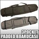 オリジナルスノーボードケースパッド付、背負い可能タイプ3ポケットタイプ [DG-1703]