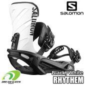 SALOMON(サロモン)【18/19・RHYTHM:BLACK】ベーシックな機能を備えてステップアップを助けるサロモンバインディングの「リズム」