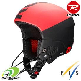 Rossignol[ロシニョール] レース用ヘルメット【19/20・HERO 9 FIS IMPACTS】ヒーローナインフィスインパクト スキー GS SL FIS規格対応ヘルメット