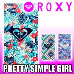 ROXY[ロキシー] 【PRETTY SIMPLE GIRL】ビーチタオル (150cm X 75cm)