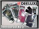 ソックス DEELUXE(ディーラックス)【Thermo Socks FIVE】五本指 日本製 旧モデルセール!
