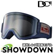 DICE【SHOWDOWN】ダイスショーダウン調光レンズ採用モデルスキースノーボードゴーグル2020-2021年モデル