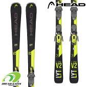 【納期B】HEAD【21/22・V-SHAPEV2+SLR9.0GWBrake85】ヘッドスキー板スキー板とビンディングとの2点セット!!【取付工賃無料】【送料無料】【後払い決済不可】