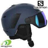 SALOMON[サロモン]スキーヘルメットPIONEERLTVISORBlue[41200000]L41200000パイオニアLTバイザー付きヘルメット