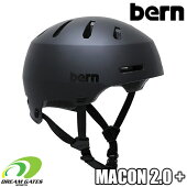 Bern【WINTERMACON2.0+:MATTEBLACK】バーンウィンターメーコンプラス日本正規取扱品ジャパンフィット大人用ユニセックスヘルメット