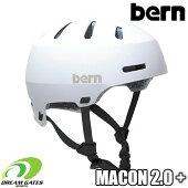Bern【WINTERMACON2.0PLUS+:MATTEWHITE】バーンウィンターメーコンプラス日本正規取扱品ジャパンフィット大人用ユニセックスヘルメット