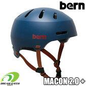 Bern【WINTERMACON2.0PLUS+:MATTENAVY】バーンウィンターメーコンプラス日本正規取扱品ジャパンフィット大人用ユニセックスヘルメット