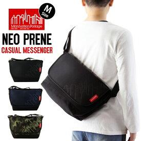 Manhattan Portage マンハッタンポーテージ Neoprene Casual Messenger Bag ネオプレン カジュアル メッセンジャーバッグ (Mサイズ) / メンズ レディース ショルダーバッグ 鞄 MP1606JRNP2