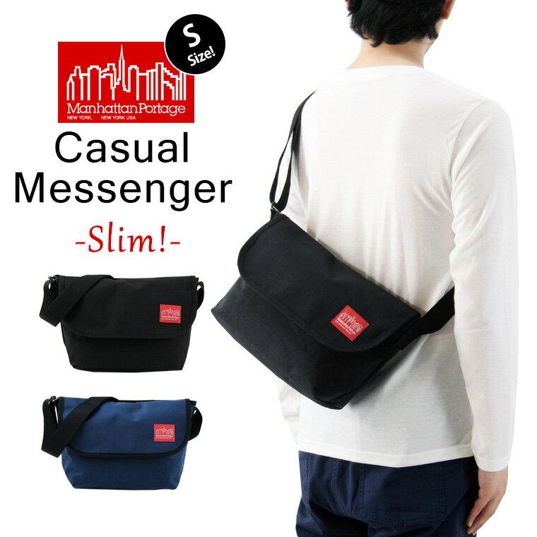 Manhattan Portage マンハッタンポーテージ Casual Messenger Slim カジュアル メッセンジャーバッグ スリム (Sサイズ) ( メンズ レディース ショルダーバッグ MP1605JRS )
