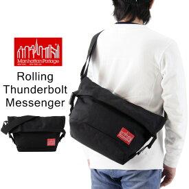 Manhattan Portage マンハッタンポーテージ Rolling Thunderbolt Messenger Bag ローリング サンダーボルト メッセンジャー バッグ / メンズ レディース メッセンジャーバッグ ショルダーバッグ MP1666